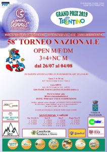 58° Torneo Nazionale OPEN M/F/DM - 3+4+NC M